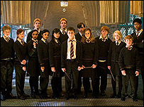 Scene from Harry Potter and the Order of the Phoenix