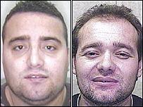 Arjan Kanani, 22, and Erjon Javori, 32