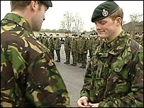 BBC NEWS | UK | England | Army units merge to form Rifles
