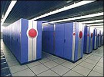 NEC's Earth Simulator supercomputer (Image: NEC)