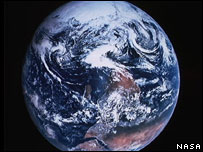 Image of the Earth (Image: Nasa)