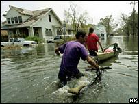 Residentes de Nueva Orleáns