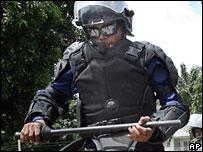 Congolese policeman