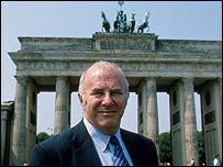 Clive James in Berlin
