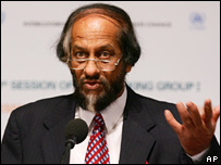 IPCC chairman Rajendra Pachauri (Image: AP)