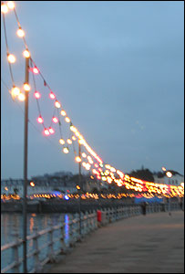 Lights in Torquay