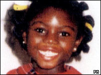 Victoria Climbie, murdered in 2000
