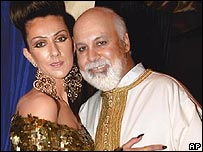 Celine Dion with Rene Angelil