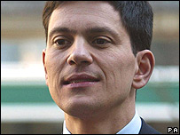 Environment Secretary David Miliband