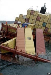 Unloading of Napoli