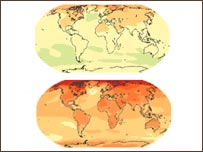 Heat map (Image: IPCC)