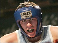 Belfast boxer Ryan Lindberg