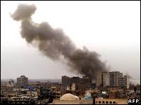 Market explosion in central Baghdad
