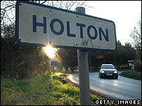 Holton sign