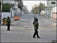 "Боевики ""ФАТХ"" в Газе"