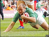 Rory Best anota para Irlanda