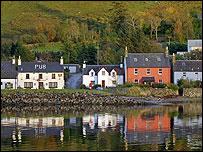 Dornie in Highland region