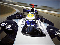 Nico Rosberg in the new Williams-Toyota FW29