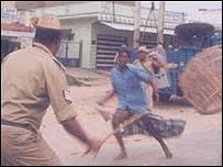 Violence in Bangalore in 1991