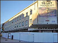 The old David Evans department store
