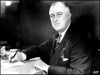 Franklin D. Roosevelt in 1937