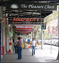 Oxford Street in Sydney, the centre of Australia's gay culture