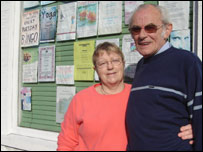 Cynthia and David Hadfield