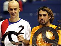 Ivan Ljubicic and Marcos Baghdatis