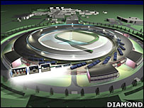 Diamond facility, artist's impression  (Diamond Light Source Ltd)