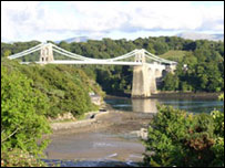 Menai Bridge: Picture - Jerry Armitage