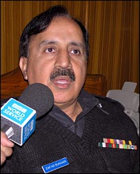 District police chief Zafar Abbas Bukhari