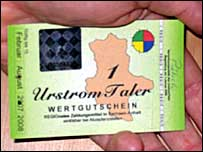 Urstromtaler currency