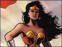 Wonder Woman (image courtesy of Titan Books)