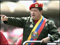 Hugo Ch�vez, presidente de Venezuela