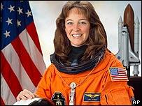 Lisa Nowak en marzo de 2005 en Houston (foto de NASA)