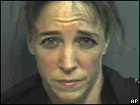 Florida police photo of Navy Capt Lisa Nowak