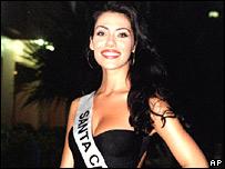 Miss Brazil, Taiza Thomsen (file image)
