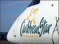 Caribbean Star plane