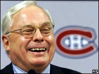 George Gillett, owner of the Montreal Canadiens