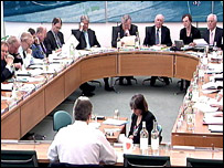 Tony Blair before the liaison committee