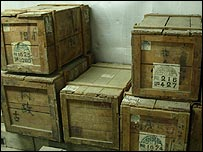 Original crates shipped from China