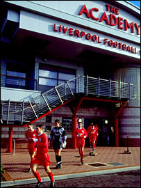 Liverpool's academy at Kirkby