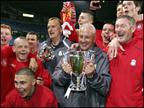 Steve Heighway and Liverpool's 2006 FA Youth Cup winners