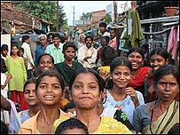 Niños dalit en India.