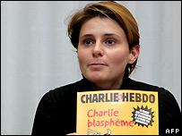 Charlie Hebdo reporter Caroline Fourest - 6/2/2007
