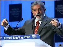 Brazilian President Luis Inacio Lula da Silva - file photo