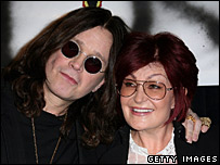 Ozzy Osbourne and his wife, Sharon