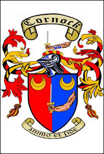 The Cornock coat of arms