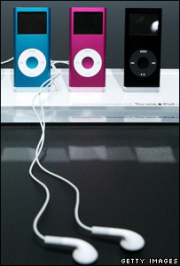 Apple iPod music players, Getty