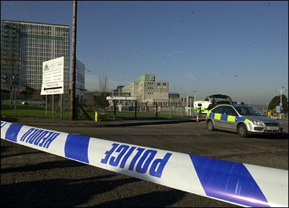 Swansea letter bomb scene